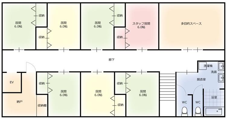 とむて¥共生型住宅画像追加¥㉀記事1号館図面