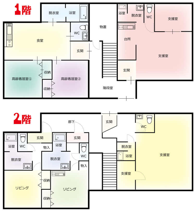 とむて¥共生型住宅画像追加¥㉀記事3号館図面